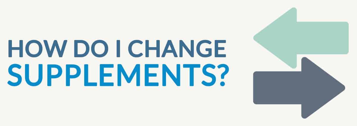 How Do I Change Medicare Supplement Plans?
